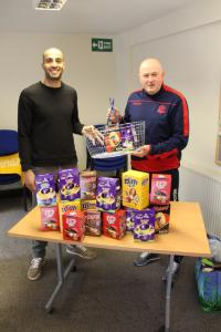Football ace swaps pitch for pantry