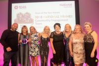 Community Engagement Team wins national award, Tpas team of the year 2018