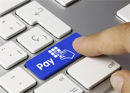 image of paying rent online