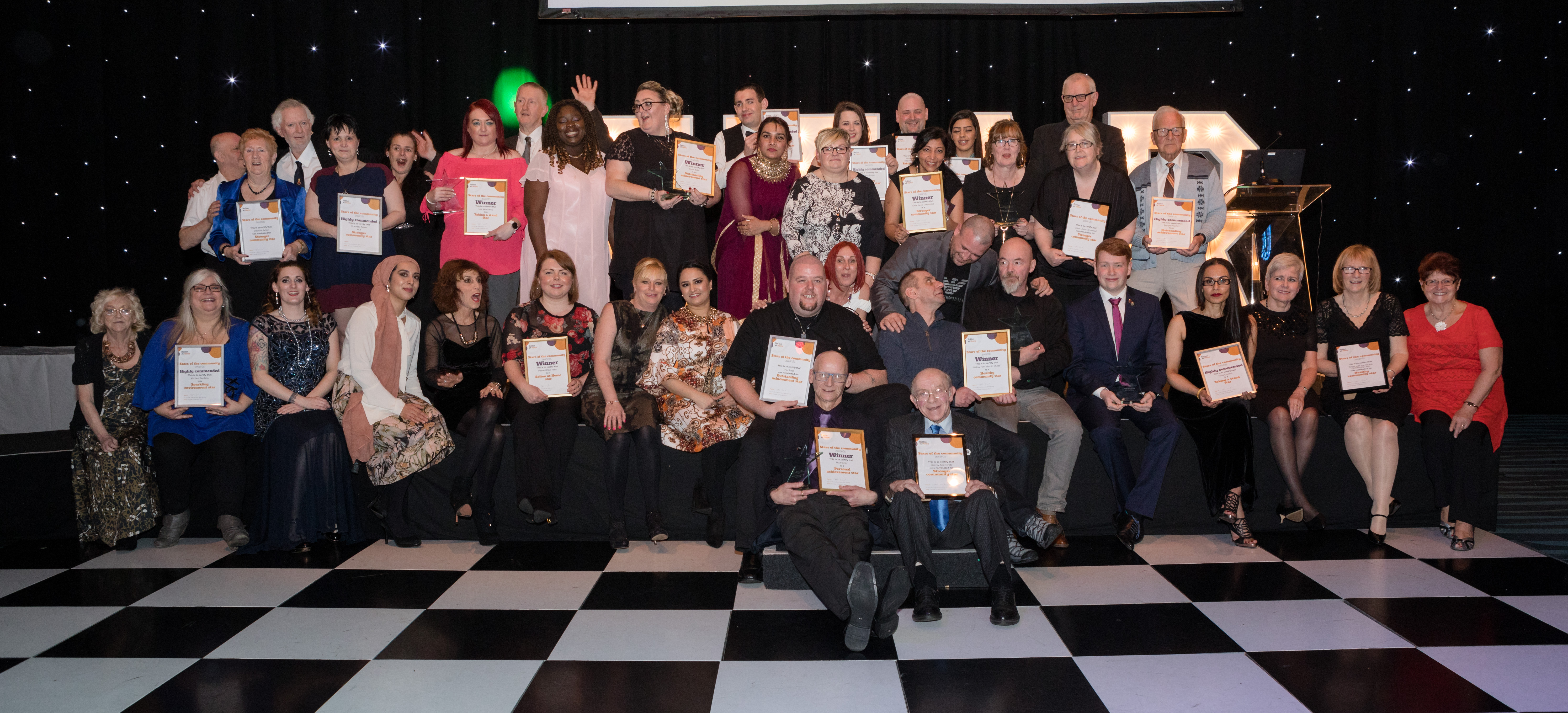 Stars of the community shine on awards night