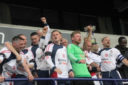 Queen Anne crowned Sunday League Open Cup champions