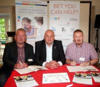 Bolton at Home has signed-up to a charter to reduce gambling related harms in the workplace