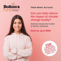 Bolton's Fund is backing young people to lead their own climate projects and help make the place they live cleaner and greener.