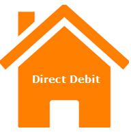 image of house showing sign for direct debit