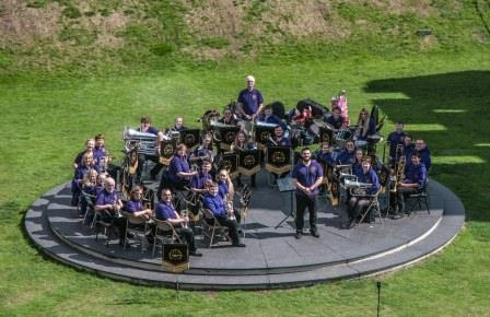 Kearsley Youth Brass Band receives the Queen's Award for Voluntary Service