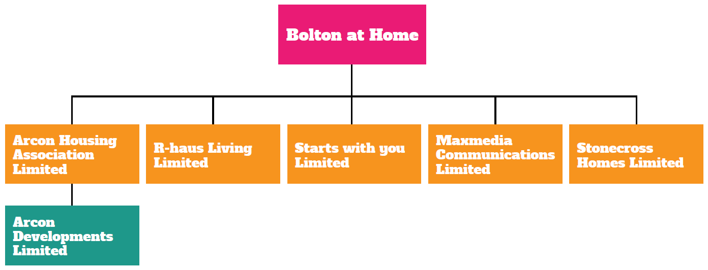 Bolton at Home Group Structure