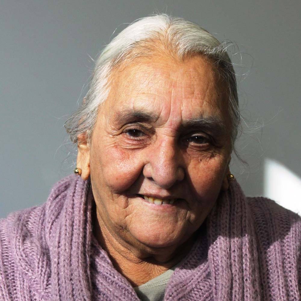 Portrait image of our Scrutiny Group member Sue Desai.