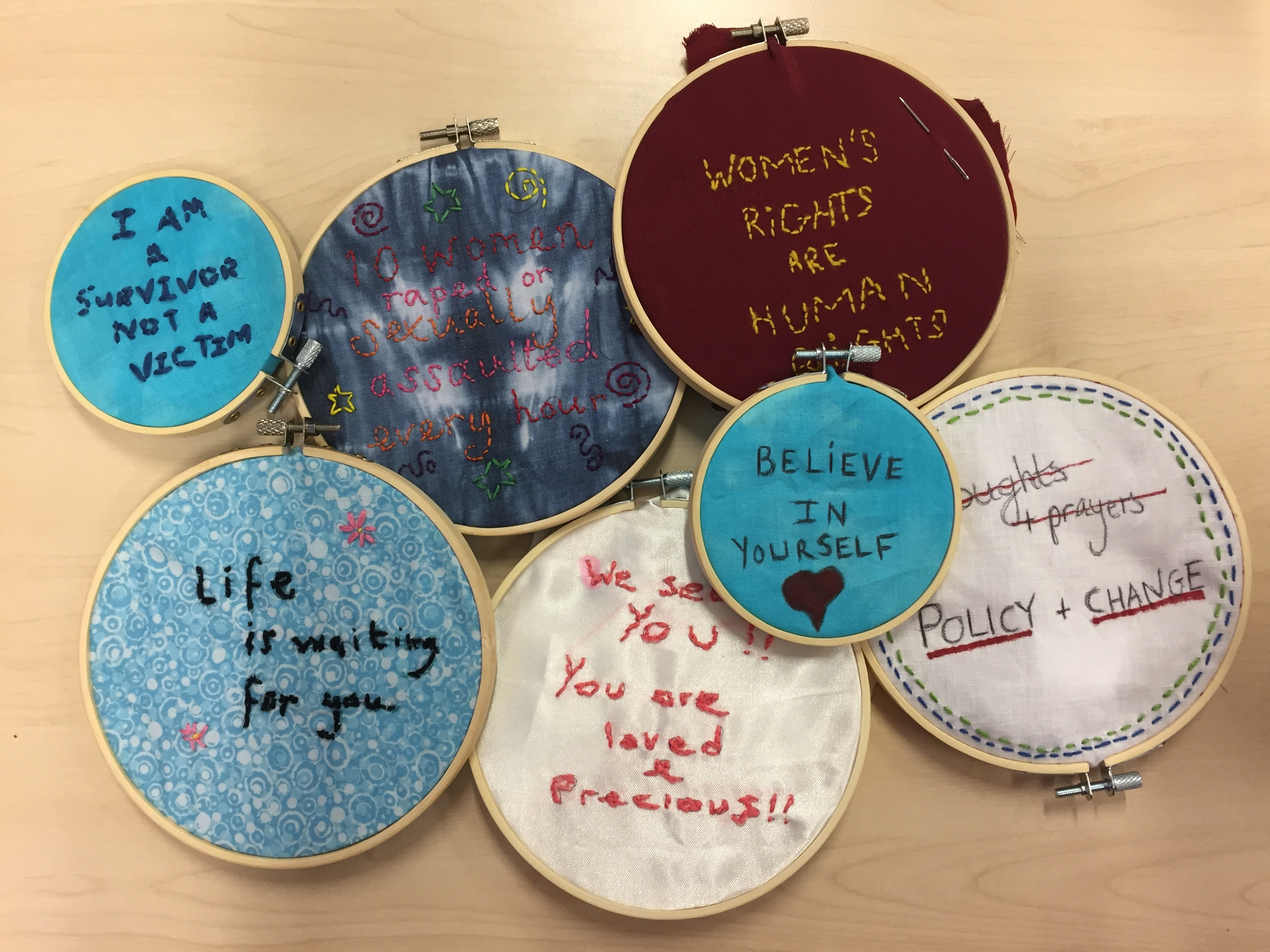 Community art project to raise awareness of domestic abuse